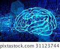 人工智能圖像 - 藍色 31123744