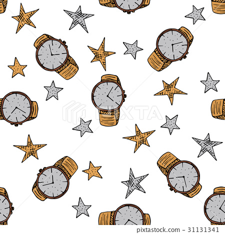 Seamless vector pattern with man symbols. 31131341