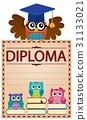 diploma, document, paper 31133021