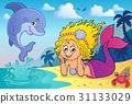 Happy mermaid theme 4 31133029