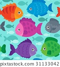 seamless, fish, fishes 31133042