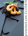 black, rice, shrimp 31135876