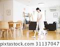 房子守門員家事代理房子清潔清潔清潔管家女人 31137047