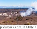 Volcanoes and lava landscapes on the Island of Hawaii 31140611