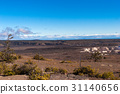 Volcanoes and lava landscapes on the Island of Hawaii 31140656