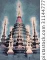 Buddhist temple Chiang Mai, Thailand 31144777