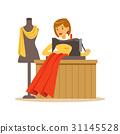 裁缝 缝纫 女人 31145528