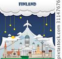Finland travel background Landmark Global Travel. 31147676