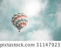 푸른, 풍선, 하늘 31147923