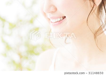 牙齒美白口腔護理美容女性護膚美容年輕女性美容 31148650
