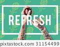 Wellness Lifestyle Refresh Flower 31154499