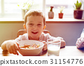 bowl, boy, cereal 31154776