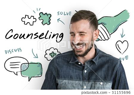 Mental health care sketch diagram 31155696