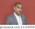 African Descent Business Man Thinking Concept 31156006
