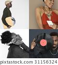 Diversity people listening music enjoymengt collection 31156324