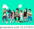 Group of students educated child development 31157033
