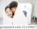 어린이, 웃음, 행복 31159827