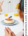 실내, 케이크, 생일케이크 31159886