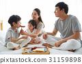 미소, 가족, 침실 31159898