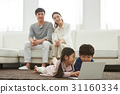 한국인, 가족, 행복 31160334