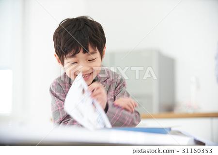 공부하는 남자 어린이 31160353