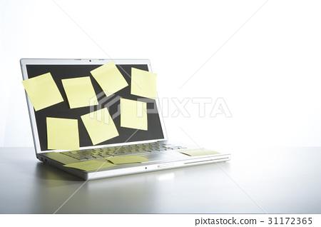 포스트잇,노트북 31172365