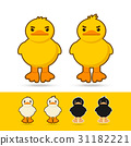 couple  duck vector illustration 31182221