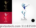 ballet, logo, vector 31183509