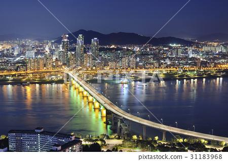 청담대교,광진구,한강,서울 31183968