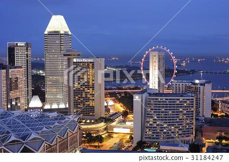 싱가포르플라이어,팬퍼시픽싱가포르,싱가포르 31184247