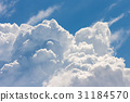 blue sky with cloud 31184570