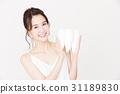 牙齒美白口腔護理美容女性年輕女士美容 31189830