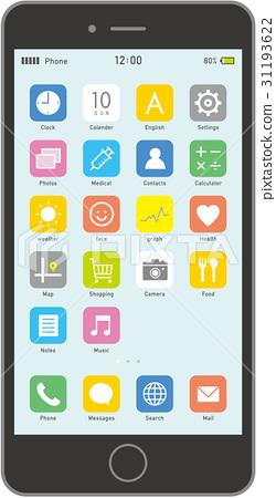Smartphone Black 31193622