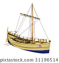 Ancient greek merchant ship 31196514