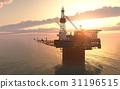 oil, platform, sky 31196515