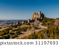 Ancient medieval Loarre knight's Castle in Spain 31197693