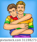 Homosexual couple oppressed prejudices 31198273