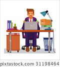 working, man, vector 31198464