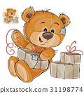 vector, Teddy, bear 31198774
