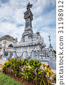 The Colon Cemetery in Havana Cuba. 31198912