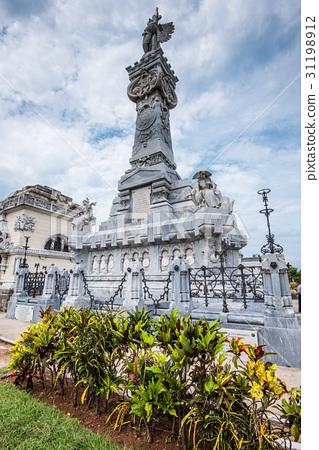 The Colon Cemetery in Havana Cuba. 31198912