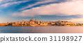 Valletta Skyline from Sliema at sunset, Malta 31198927