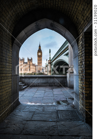 Unusual point of view at framed Westminster 31199020