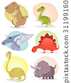 Cartoon Dinosaur Collection 31199160