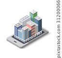 City phone concept business 31200066