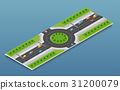 City isometric freeway 31200079