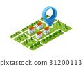 navigation city map 31200113