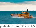 Orange pilot ship 31200377
