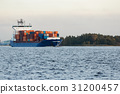 blue,boat,container 31200457