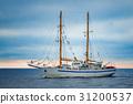 White sailing ship 31200537